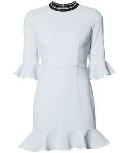 Rebecca Vallance | Billie Flare Mini Dress 6 Polyester/Spandex/Elastane