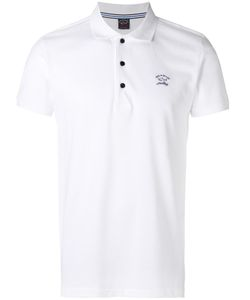 Paul & Shark | Logo Print Polo Shirt Medium