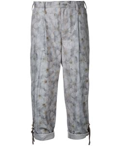 Kolor | Print Cropped Trousers Size