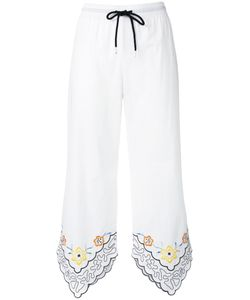 See By Chloe | See By Chloé Trim Drawstring Trousers 38