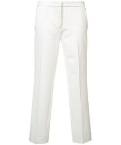 Derek Lam | Straight Cropped Trousers 44 Viscose/Polyimide/Spandex/Elastane