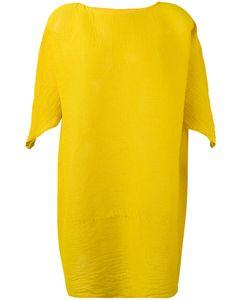Issey Miyake Cauliflower | Плиссированное Платье Шифт