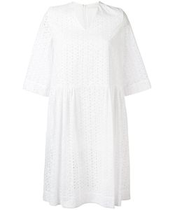 Peter Jensen | Broderie Anglaise Dress Xs Cotton