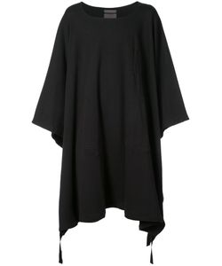 SIKI IM | Long Poncho Sweater Men