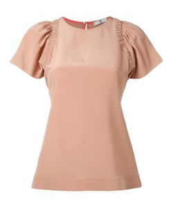 PS PAUL SMITH | Ps By Paul Smith Pleated Sleeve Blouse 40