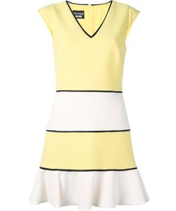 BOUTIQUE MOSCHINO | Striped Dress 44 Cotton/Polyamide/Spandex/Elastane/Acetate