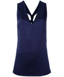 Lanvin | Racerback Sleeveless Blouse 40