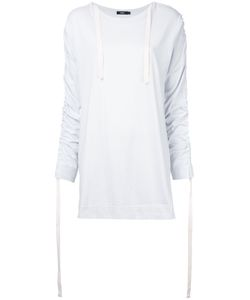 Bassike | Ruched Sleeves T-Shirt 8 Cotton