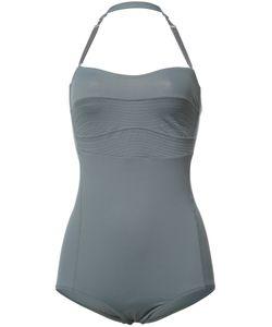 Malia Mills | Bandeau Swimsuit 8 Nylon/Spandex/Elastane