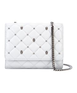 Thomas Wylde | Studded Quilted Crossbody Lamb Nubuck