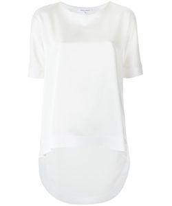 GLORIA COELHO | Round Neck Blouse Gg Acetate/Polyester