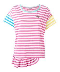 Tsumori Chisato | Stripe Frill Hem T-Shirt Size Small