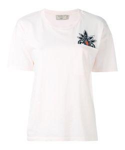 Maison Kitsune   Maison Kitsuné Embroidered Pocket T-Shirt