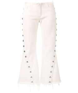 Marques Almeida | Marquesalmeida Capri Buttoned Jeans 12 Cotton/Metal
