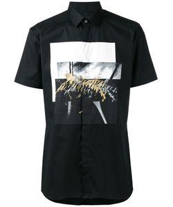 Les Hommes | Shortsleeved Printed Shirt Size 52