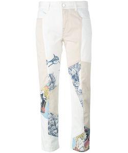 Stella Mccartney | Graphic Print Panel Jeans