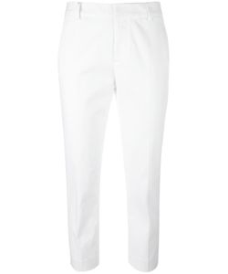 Dsquared2 | Slim Cropped Trousers 36 Polyester/Cotton/Spandex/Elastane