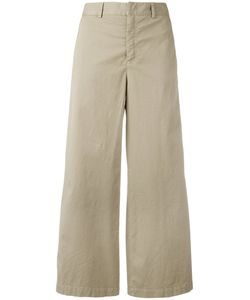 Red Valentino | Wide-Leg Cropped Trousers Size 42