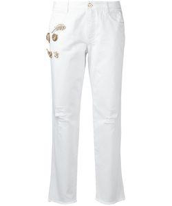 Ermanno Scervino | Appliqué Jeans Size 40
