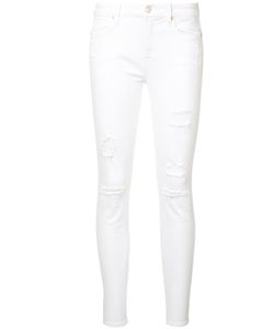 7 for all mankind | Distressed Ankle Skinny Jeans