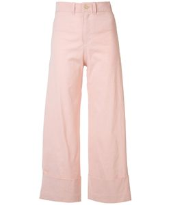 Sea | Wide Leg Trousers 6 Cotton/Linen/Flax/Viscose