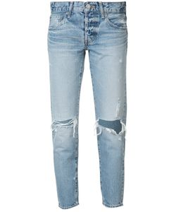 Moussy | Distressed Cropped Jeans Size 26