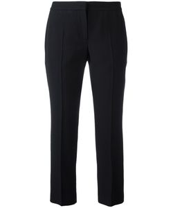 Alexander McQueen | Cropped Trousers 44 Viscose/Acetate