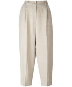 Nehera | Cropped Trousers 38 Linen/Flax