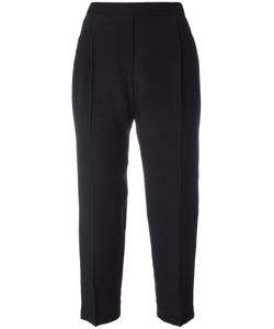 Neil Barrett | Cropped Trousers 42 Silk/Cupro