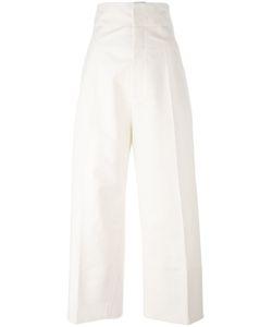 JACQUEMUS | Ecru Trousers 38