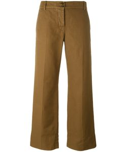 Aspesi | Cropped Pants 42 Cotton/Linen/Flax