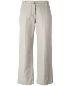 Aspesi | Cropped Pants 44 Cotton/Linen/Flax