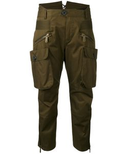 Dsquared2 | Cropped Cargo Trousers 42