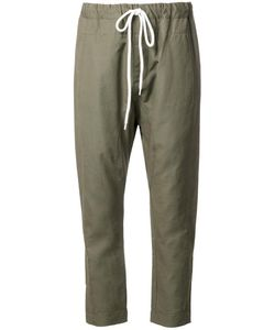 Bassike | Relaxed Fit Trousers 8 Cotton/Linen/Flax