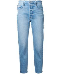 Frame Denim | Straight Cropped Jeans