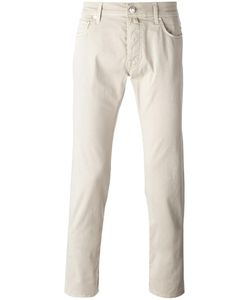 Jacob Cohёn | Jacob Cohen Slim-Fit Trousers 34 Cotton/Spandex/Elastane