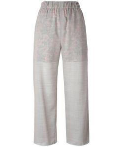 Julien David | Contrast Lining Trousers