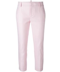 Dsquared2 | Cigarette Trousers 42 Cotton/Silk