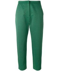 MSGM | Cropped Pants 42 Cotton/Polyamide/Polyester