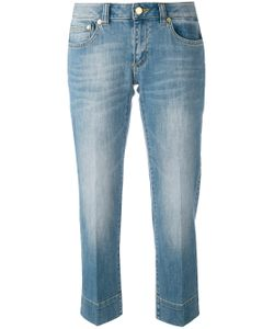 Michael Michael Kors | Stonewashed Cropped Jeans