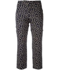 Ganni | Printed Cropped Trousers Size 38