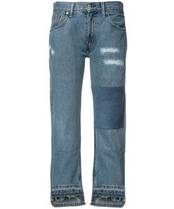 Nili Lotan | Patch And Frayed Jeans 24