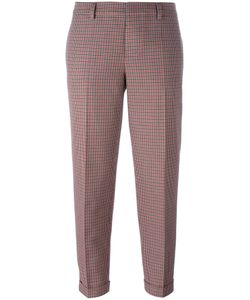Dsquared2 | Slim Plaid Trousers 36 Cotton/Virgin Wool/Polyester