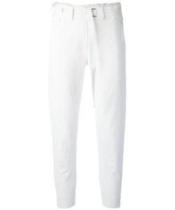 Ann Demeulemeester | Raw Hem Waist Trousers 36 Cotton/Linen/Flax