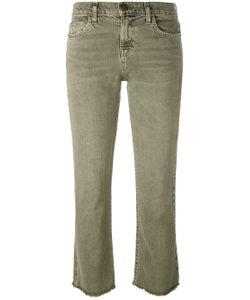 Current/Elliott | Frayed Kick Flare Jeans
