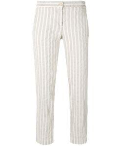 Massimo Alba | Striped Straight Trousers
