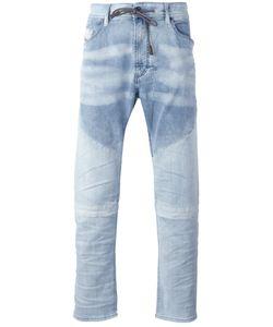 Diesel | Drawstring Denim Jeans 30 Cotton/Polyester/Spandex/Elastane