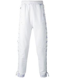Faith Connexion | Laced Track Pants Large Cotton