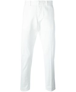 Ami Alexandre Mattiussi | Seamless Chino Trousers Large Cotton/Spandex/Elastane