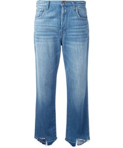 J Brand | Ivy High Rise Cropped Jeans